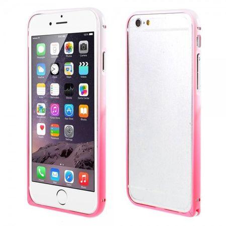 iPhone 6/6S Metallener Handy Bumper mit Farbverlauf - rot