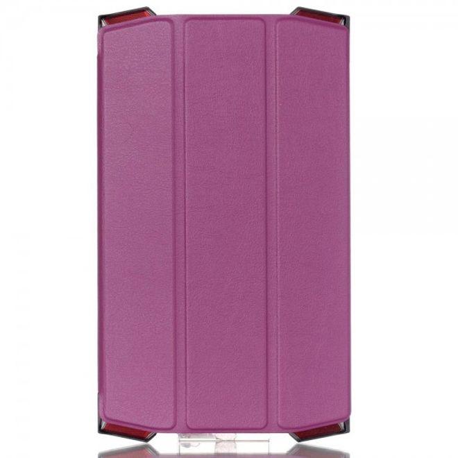 Acer Predator Dreifach faltbare Leder Smart Case Hülle mit Standfunktion - purpur