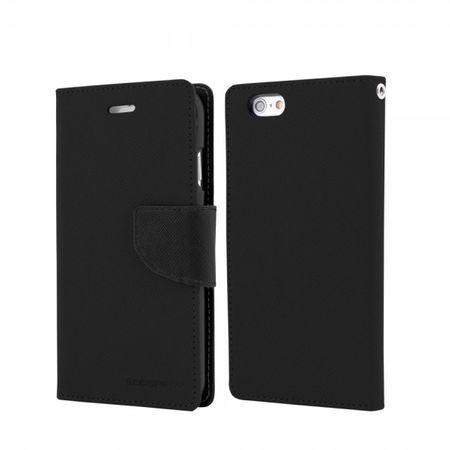 Mercury Goospery - Cover für Samsung Galaxy Tab 3 8.0 - Hülle aus Leder - Fancy Diary Series - schwarz/schwarz