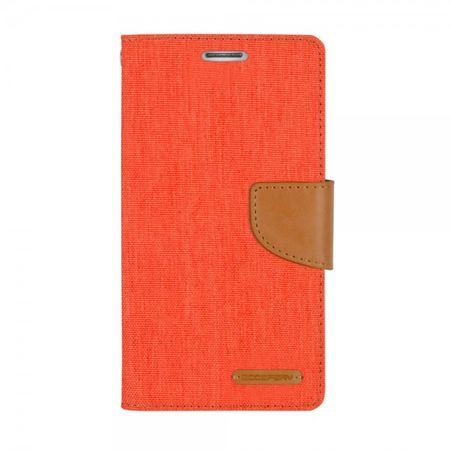 Mercury Goospery - Flipcase Hülle für iPad 2/3/4 - Hülle aus Leder/Stoff - Canvas Diary Series - orange/camel