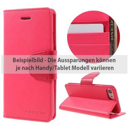 Mercury Goospery - Sony Xperia Z3 Handyhülle - Case aus Leder - Sonata Diary Series - rosa