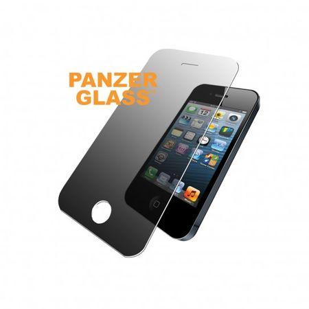 PanzerGlass - iPhone SE / 5S / 5C / 5 Displayschutz aus gehärtetem Glas - Privacy (P1010) - transparent
