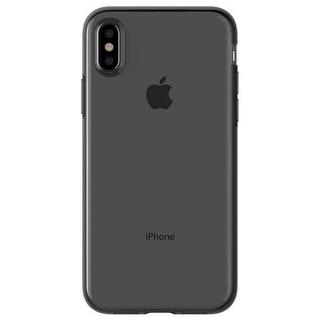 Araree - iPhone X Handy Hülle - Case aus TPU Plastik - Airfit Series - transparent/schwarz