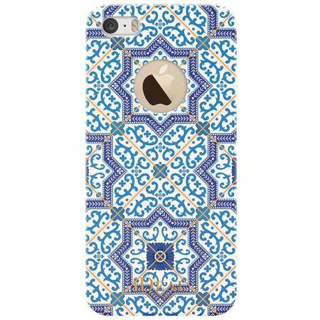 iDeal of Sweden - iPhone SE/5S/5 Handyhülle, Designer Case MARRAKECH - blue