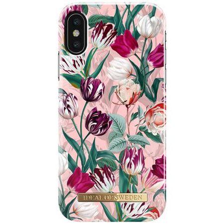 iDeal of Sweden - iPhone X Hülle - Vintage Tulips Designer Case - mehrfarbig