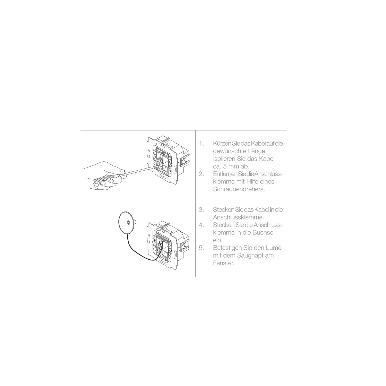 elero lumo technische zeichnung
