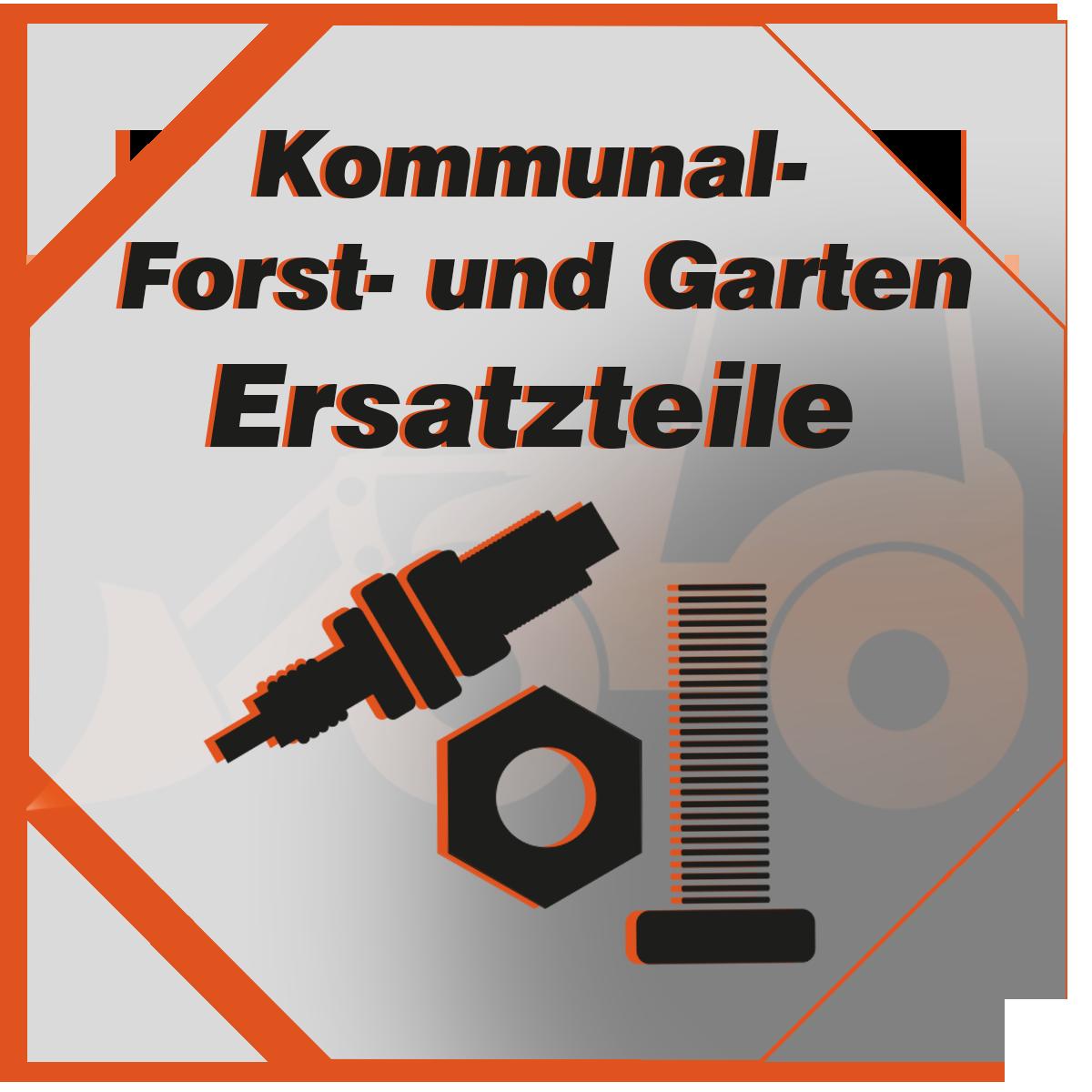 Ersatzteile von Originalherstellern für Kommunal, Forst und Gartenmaschinen und Geräten