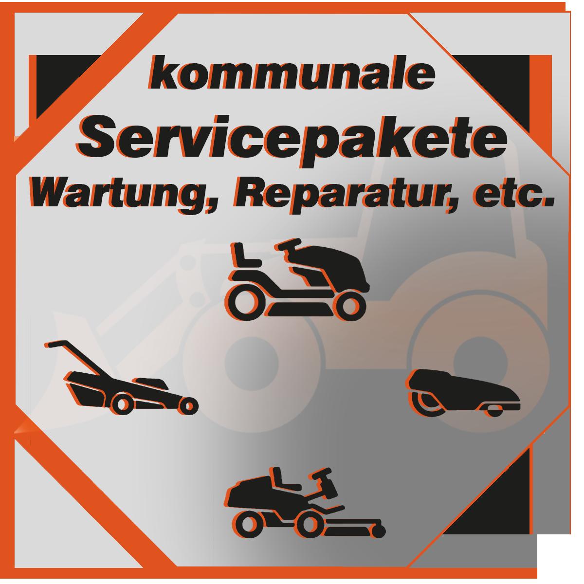 Servicepakete für Garten- und Kommunaltechnik