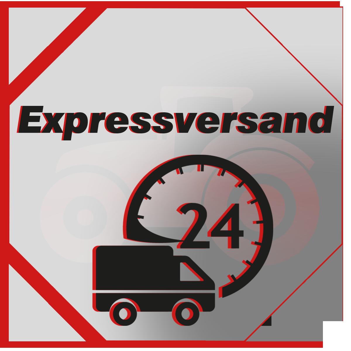 Nachtversand, Expressversand innerhalb 24 - 28 Stunden