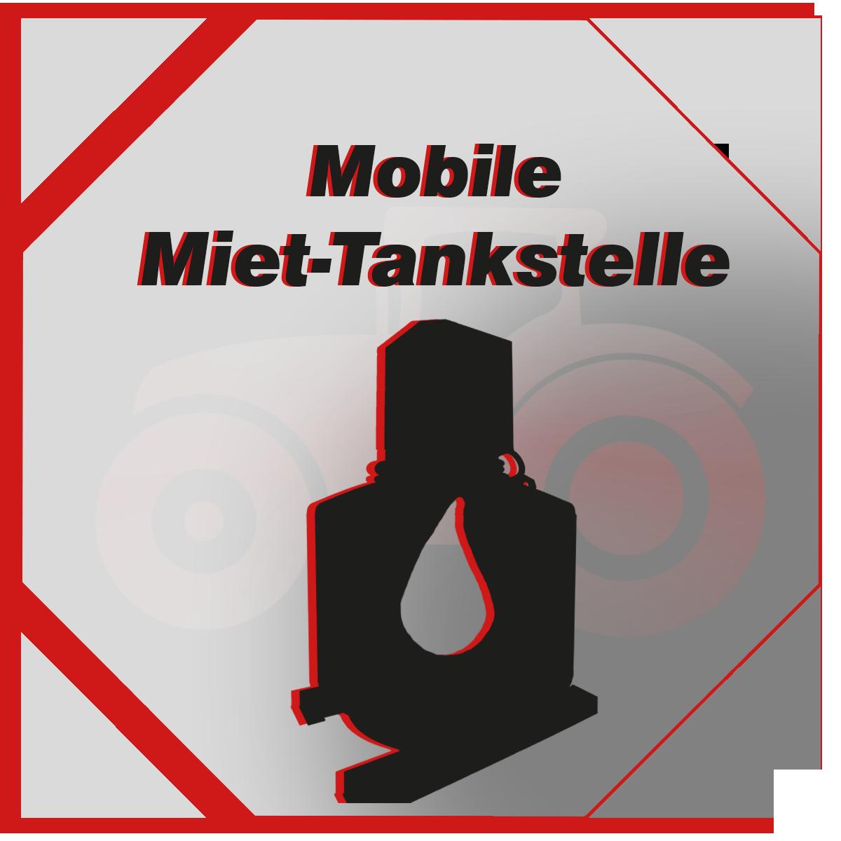 Miet-Tankstelle -mobile Tankstelle