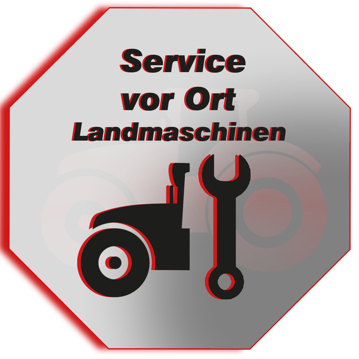 Reparatur vor Ort - wir kommen zu Ihnen und reparieren Ihre Maschinen und Geräte
