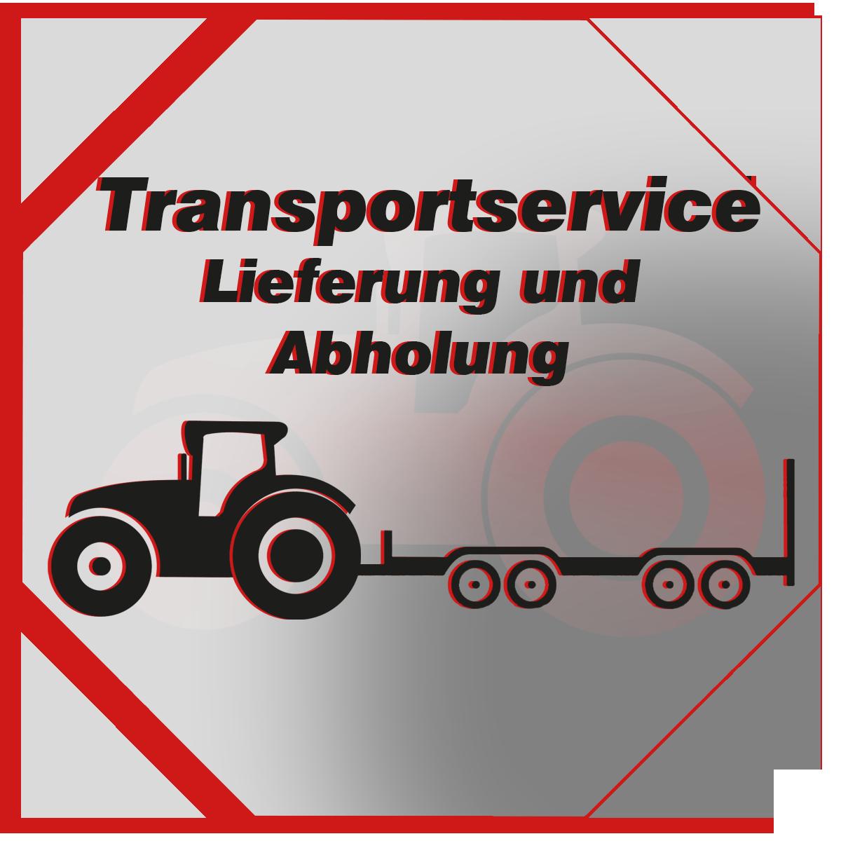 Transportservice für Landmaschinen - wir liefern und holen ab