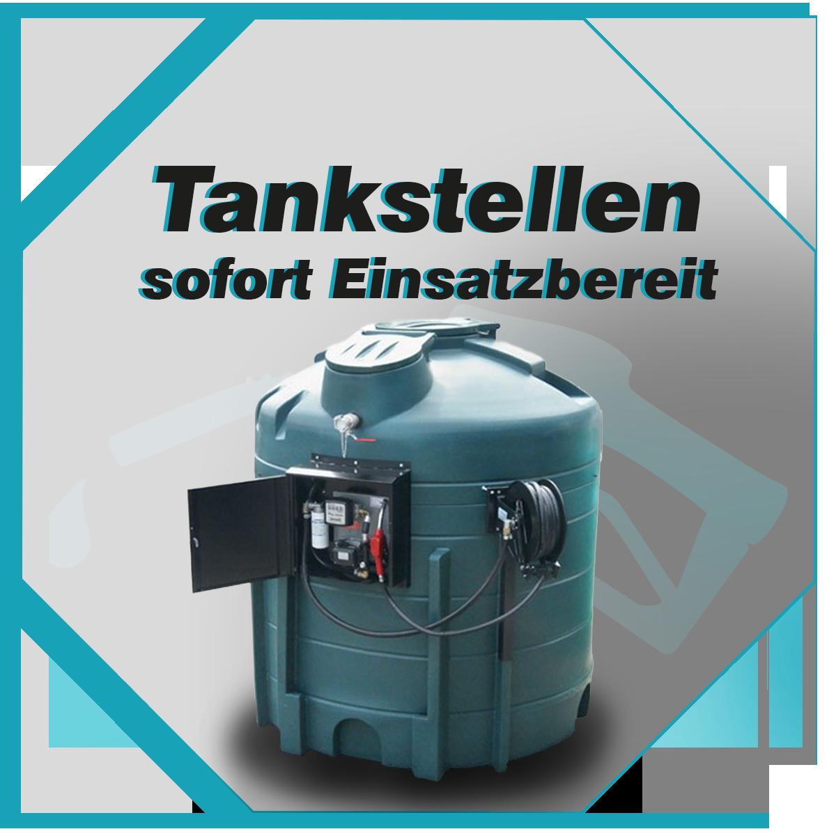 fertig montierte Tankstellen für Diesel, AdBlue und Benzin. sofort einsatzbereit nach lieferung