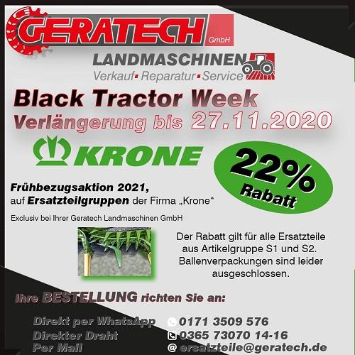 Frühbezugsaktion GERATECH Landmaschinen Landtechnik Bernhard Krone