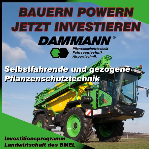 Investitionsprogramm Landwirtschaft BMEL - Maschinen von Dammann