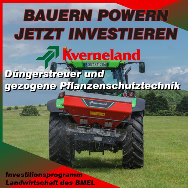 Investitionsprogramm Landwirtschaft BMEL - Maschinen von Kverneland