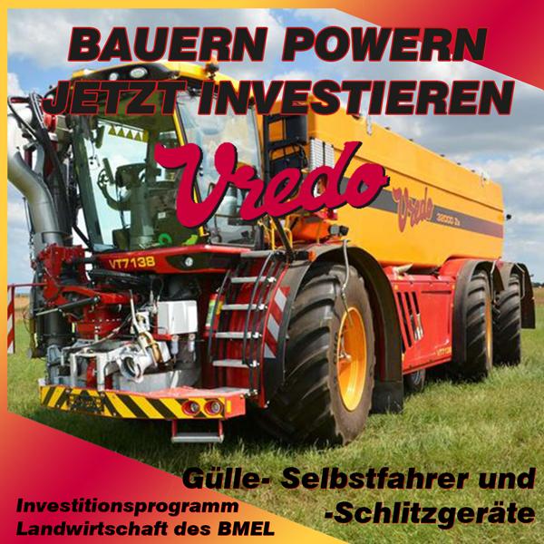 Investitionsprogramm Landwirtschaft BMEL - Maschinen von Vredo