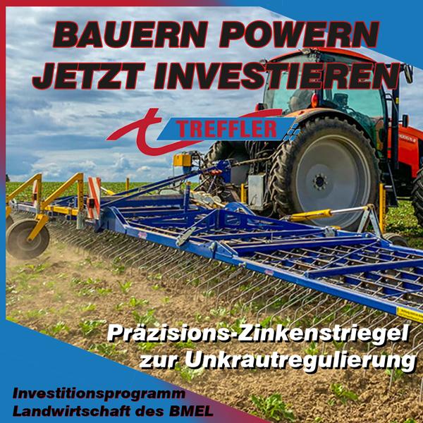 Investitionsprogramm Landwirtschaft BMEL - Maschinen von Treffler