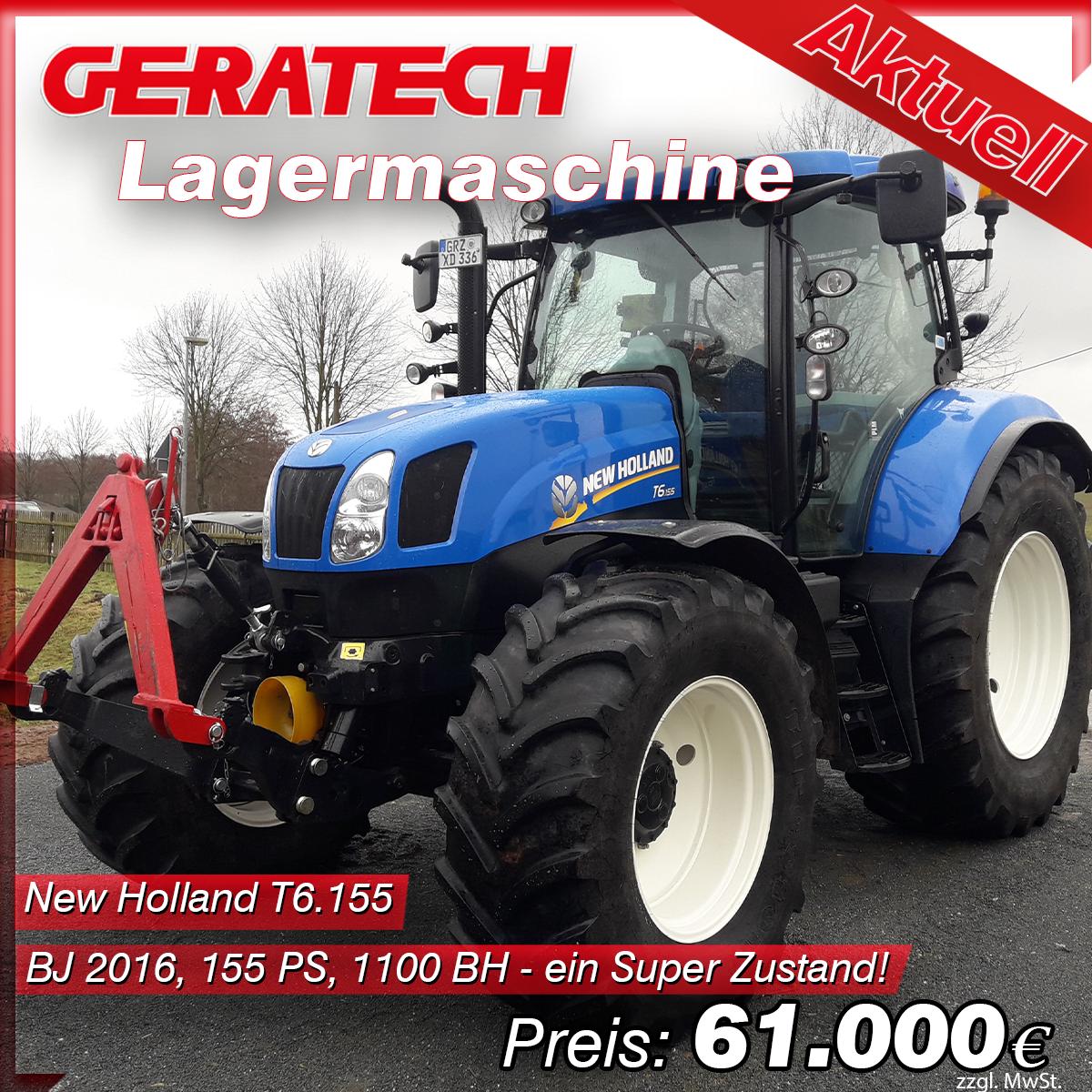 Aktionspreis Traktor New Holland T6.155