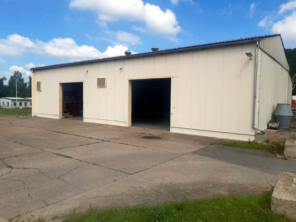 Lackierhalle zu vermieten bei GERATECH Landmaschinen GmbH