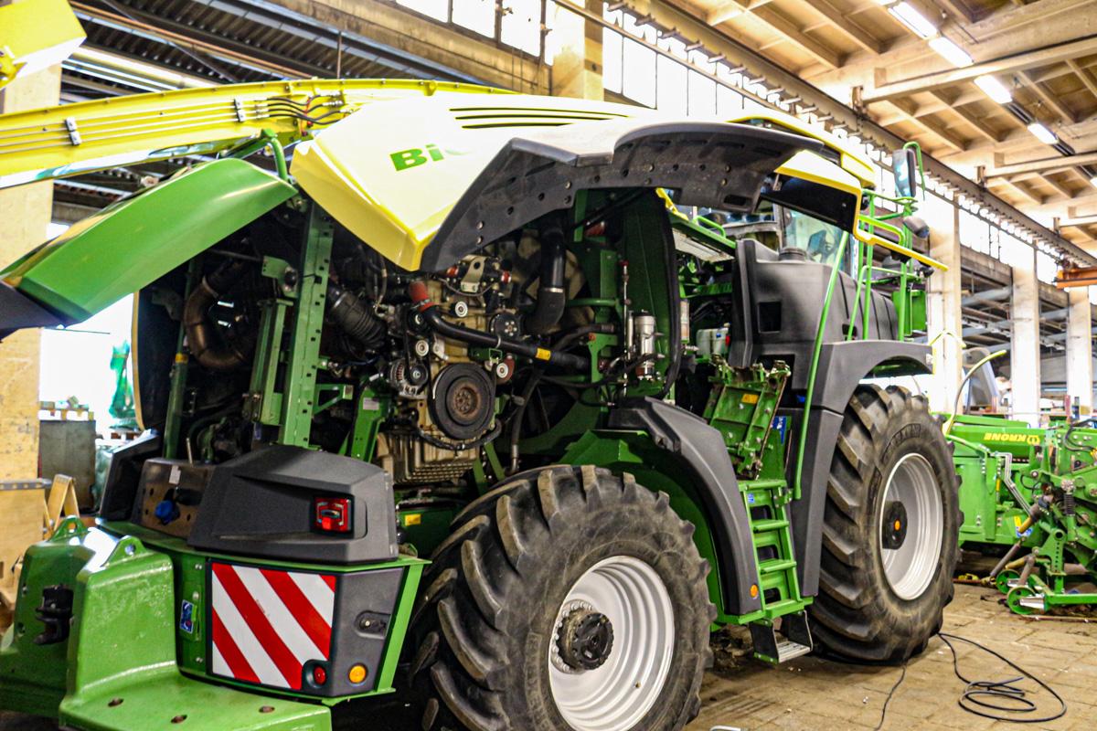 Auch für große Landmaschinen