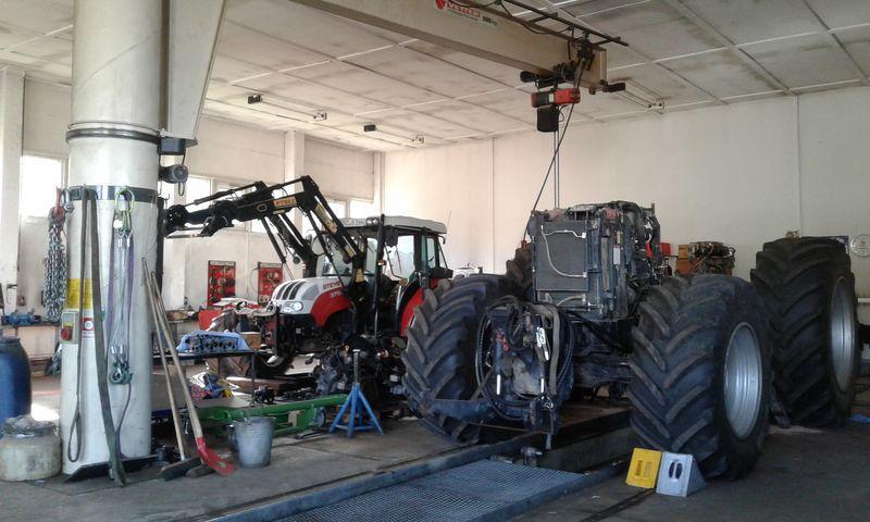 Geratech landmaschinen Werkstatt