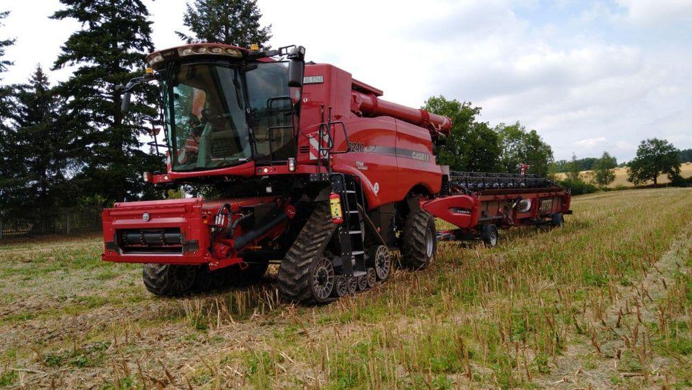 Vorführungen von Landtechnik der GERATECH Landmaschinen GmbH