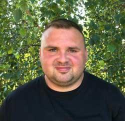Verkaufsberater Frank Steinhäuser für die PLZ Gebiete 07 und 99 der Geratech