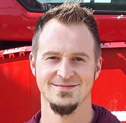 Geschäftsführer und Verkaufsleiter der Firma Geratech Landmaschinen Peter Degelmann
