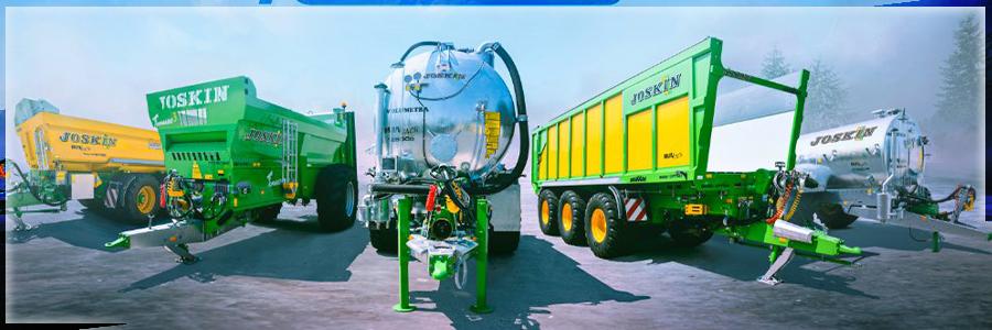 Fulliner Angebot von Jiskin bei GEratech Landmaschinen Transport- und Gülletechnik. die große Transport-Logistik Lösung