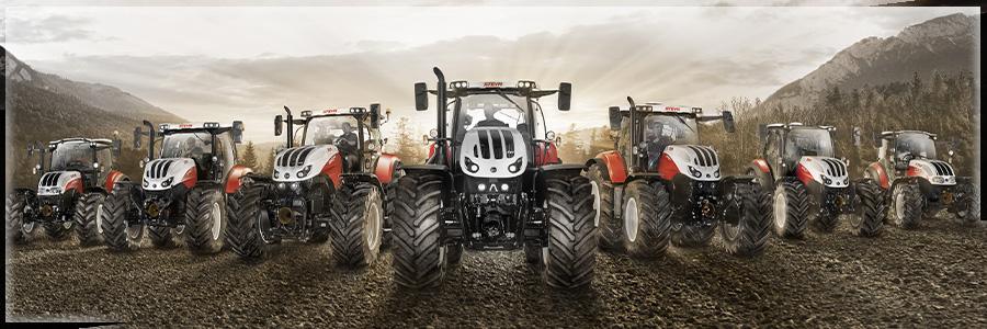 Fulliner-Händler Geratech Landmaschinen verschiedener Marken wie Case, Steyr, Kubota, Krone, Farmet, Vredo, und mehr