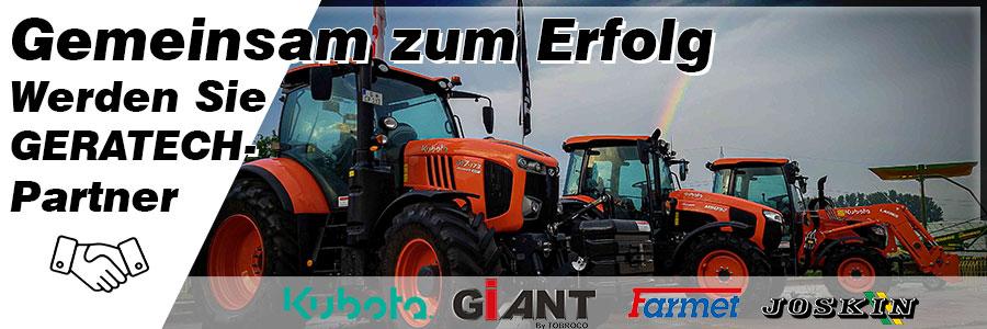 Partnerhändler von Geratech Landmaschinen GMbH werden