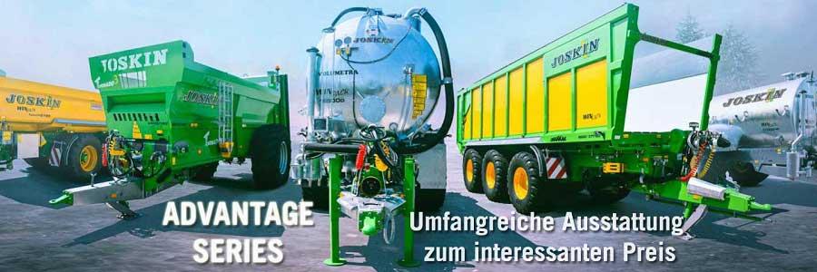 Landtechnik von Joskin von der GERATECH Landmaschinen GmbH