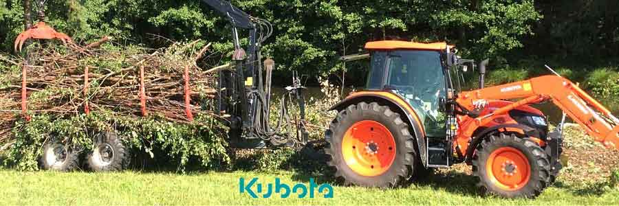 Landtechnik von Kubota von der GERATECH Landmaschinen GmbH