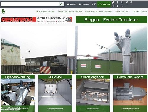 zu GERATECH Biogas wechseln!