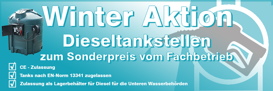 Winteraktion Diesel Tankstellen Betriebstankstellen