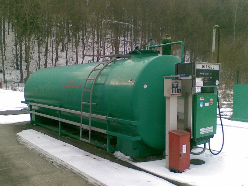 Dieseltank als Tankanlage durch Geratech GmbH