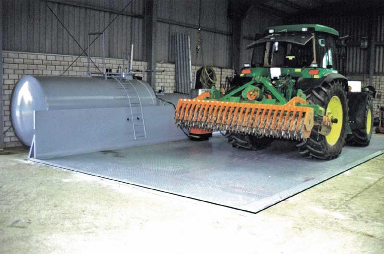 Abfüllplatz KPS für Diesel- und Biodiesel Eigenverbrauchstankanlagen