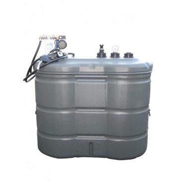 1.500 l Tankanlage mit aufgesetzter Pumpe