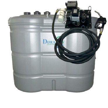 1.500 l Tankanlage mit Pumpe auf Wandhalterung – Bild 1