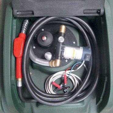 mobiler 400 Liter Diesel-Tank mit 40 l/min Pumpe Transfuel DFT400NP40 – Bild 3