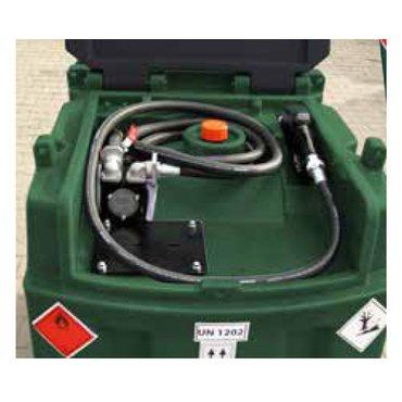 mobiler 600 Liter Diesel-Tank mit 60 Liter Pumpe DFT600NP60 – Bild 2