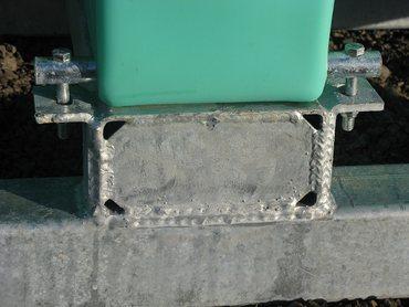 Befestigungsbolzen inkl. Schrauben für 2.000-3.000L Transportfässer  STA03