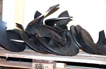 Schneckenflügel rechts 380x115 V2A, BGA – Bild 1