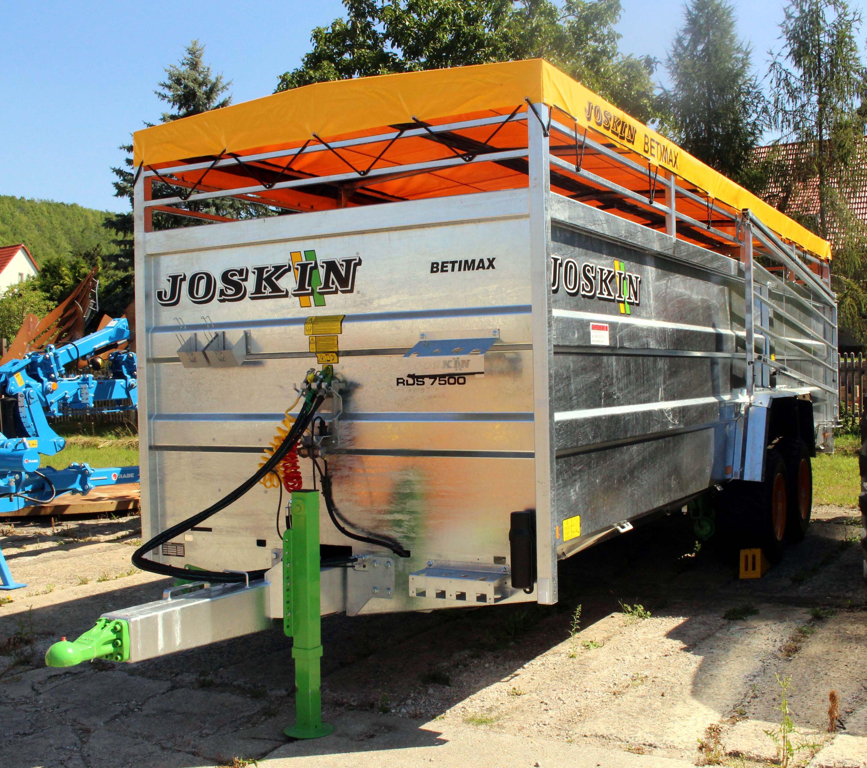 Joskin Viehanhänger BETIMAX RDS 7500  hydraulisch absenkbar Joskin