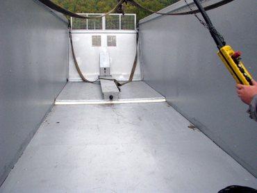 Abschiebecontainer für Biogasfeststoffe – Bild 1