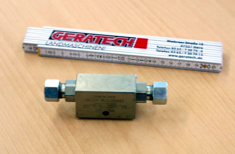 """Hydraulikventil G3/8""""-20L  M08083 - Farmet Kompaktomat Farmet"""