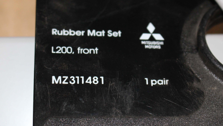 Gummimattensatz vorn L200   MZ311481  Mitsubishi