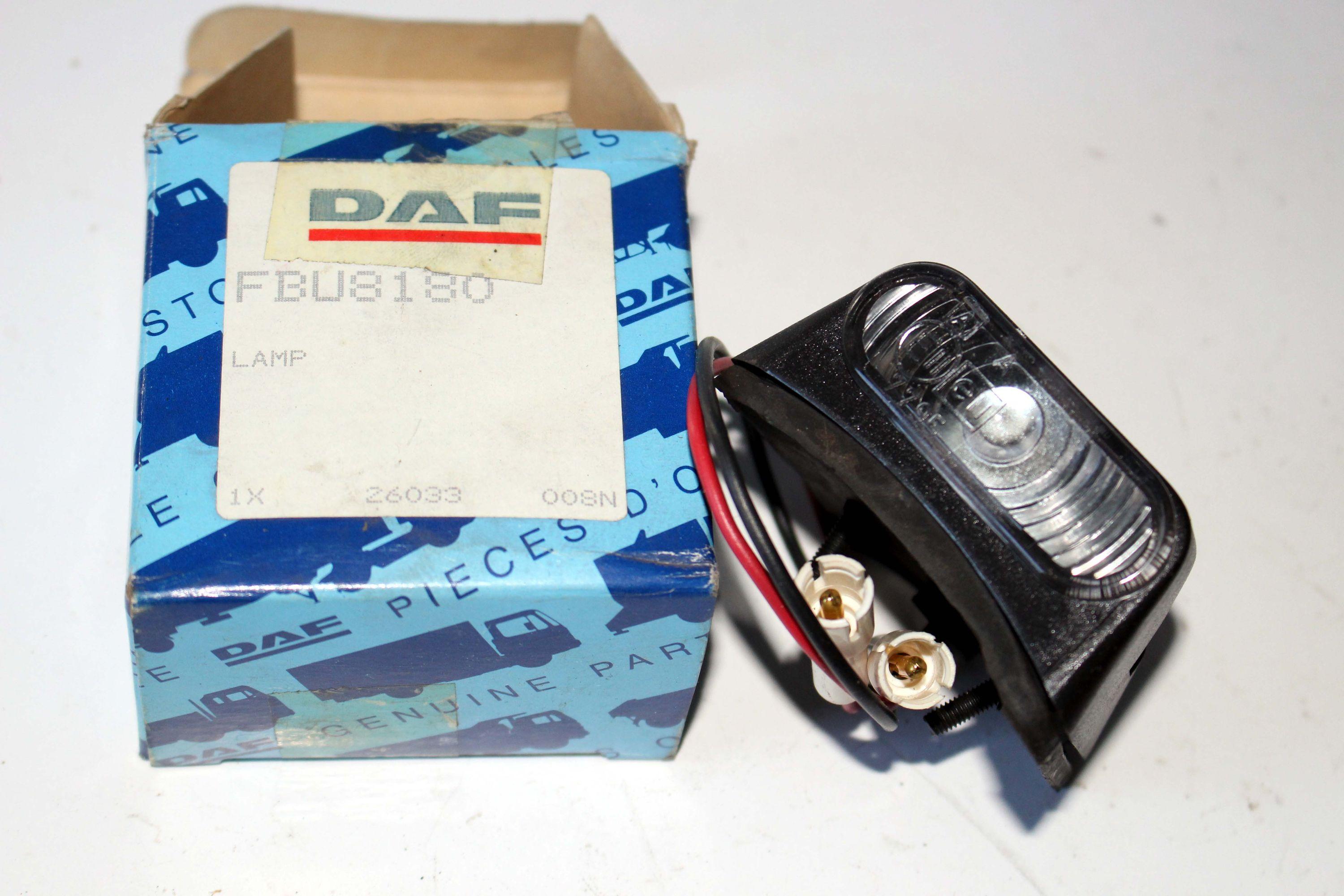 FBU8180 Lampe DAF DAF