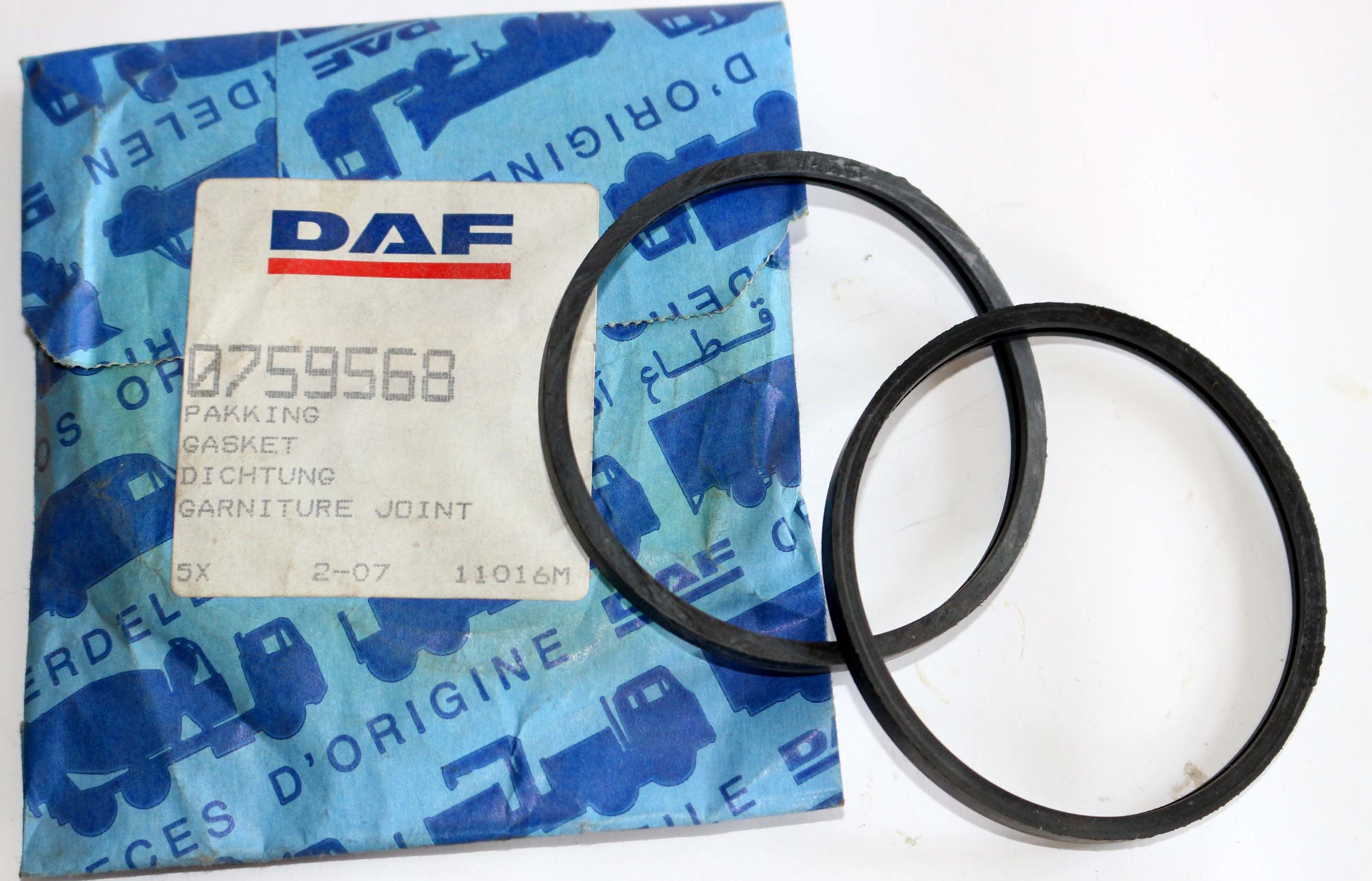 0759568 Dichtung Thermostat DAF 400